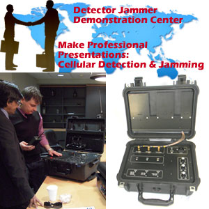 Detector Jammer Demonstration Kit