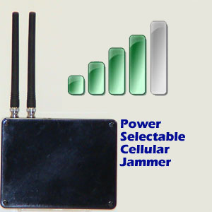Power Selectable Jammer